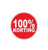 Oracal 3164 G wit Autocollant circulaire 100% korting
