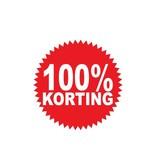Oracal 3164 G wit Ronde 100% korting Sticker