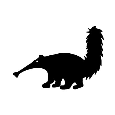 Ameisenbär Sticker
