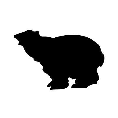 Ijsbeer Sticker