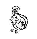 Eichhörnchen Sticker