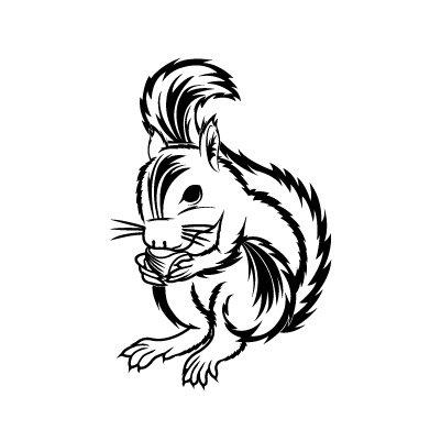 Eekhoorn Sticker
