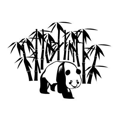 Panda Sticker