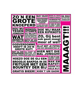 Sticker vel! New kids uitspraken