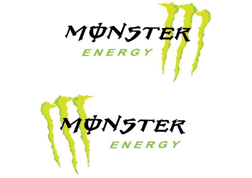 Decoratie Monster sticker