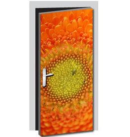 Flower Door sticker