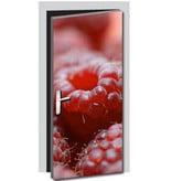 Raspberries Door sticker