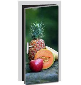 Fruit Deur sticker