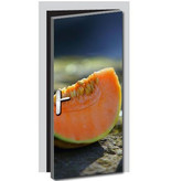 Meloen Deur sticker