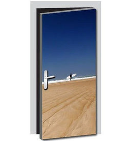 Surfer Tür Aufkleber