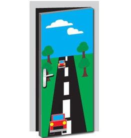Car way Door sticker