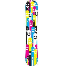 CMYK poppetjes snowboard Sticker