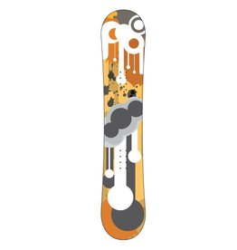 Druppels snowboard Sticker
