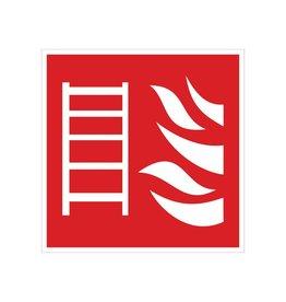 Fire escape sticker