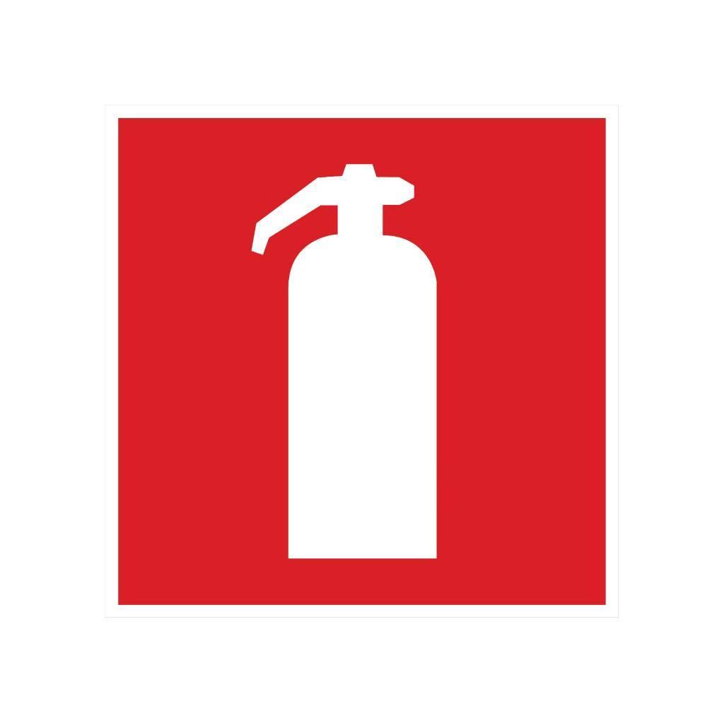 Feuerlöscher Sticker
