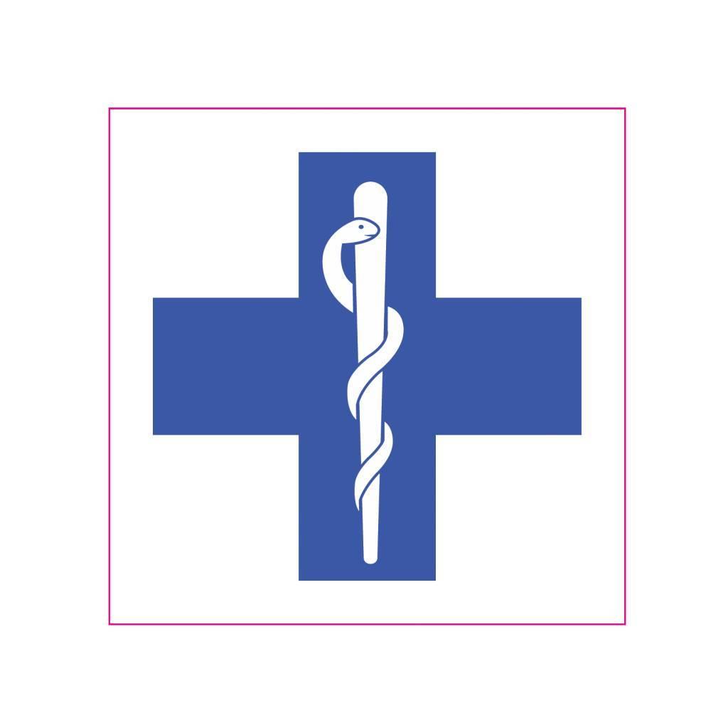 EHBO blauw kruis
