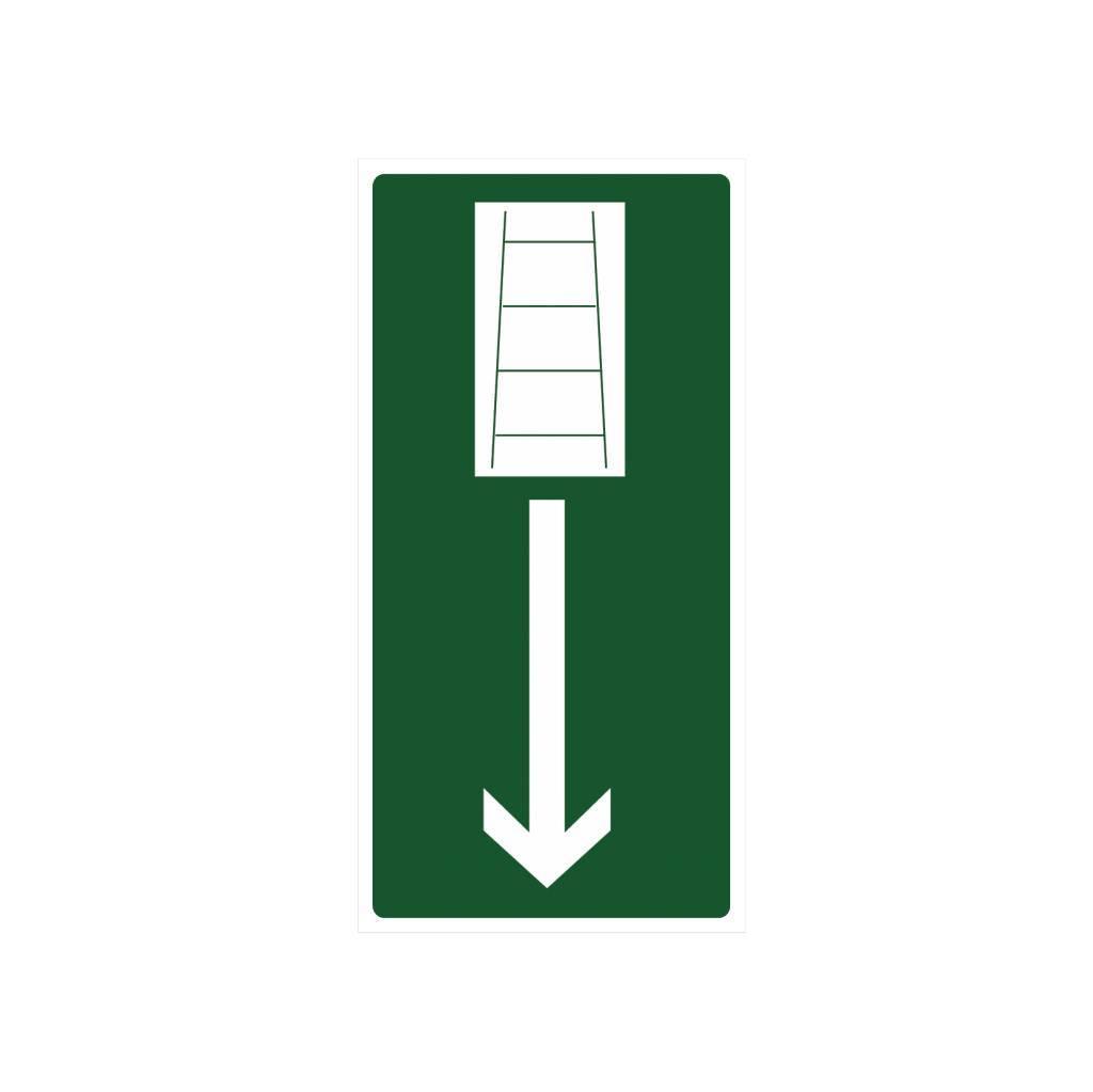 Noodladder sticker