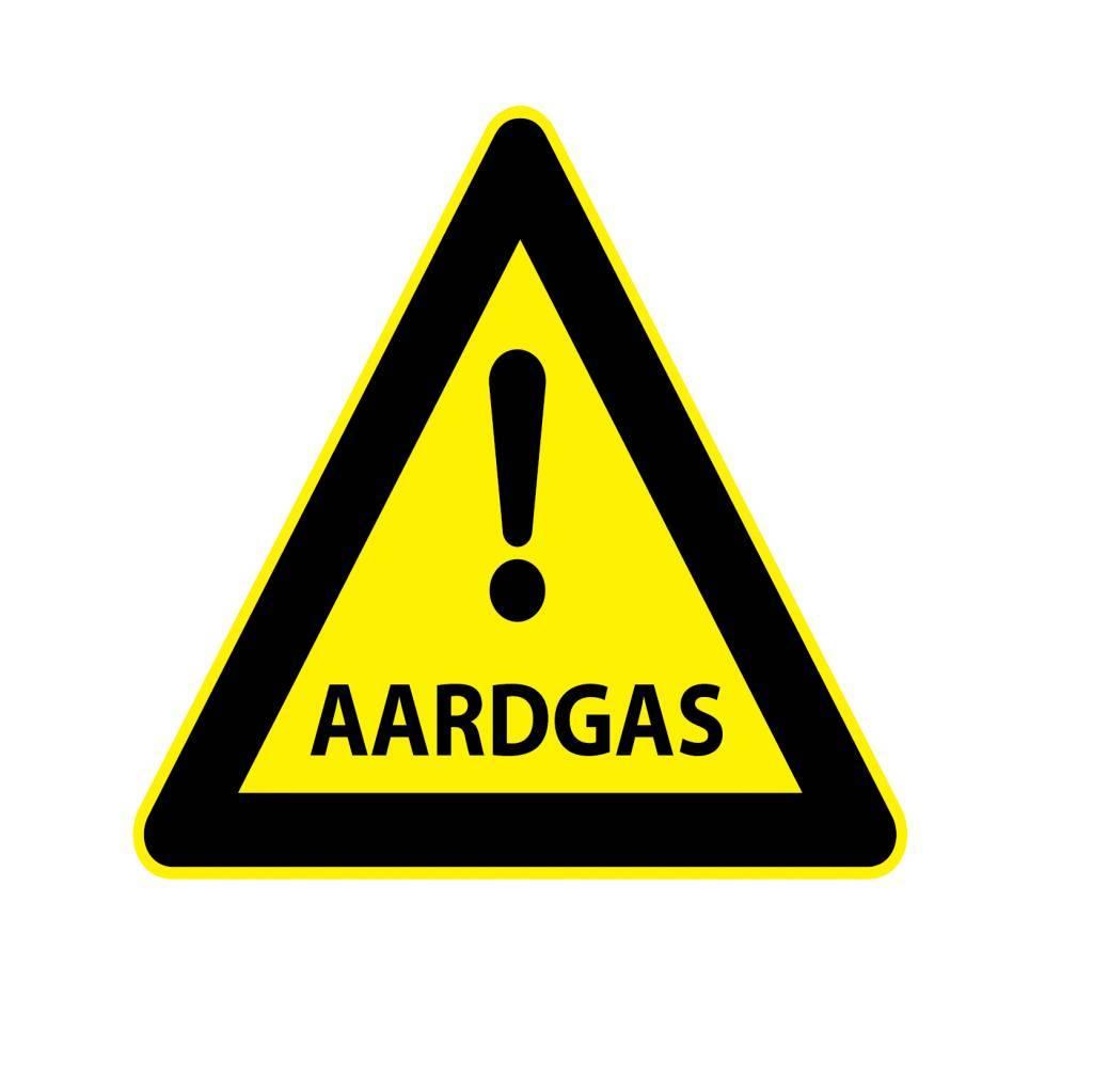 Aardgas Sticker