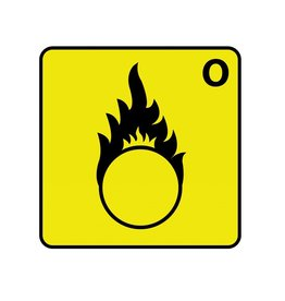 Oxidising O Sticker