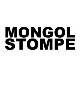 MONGOL STOMPE Sticker