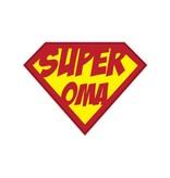 Super hero Oma Sticker