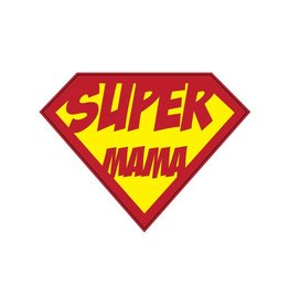 Super hero Mama Sticker