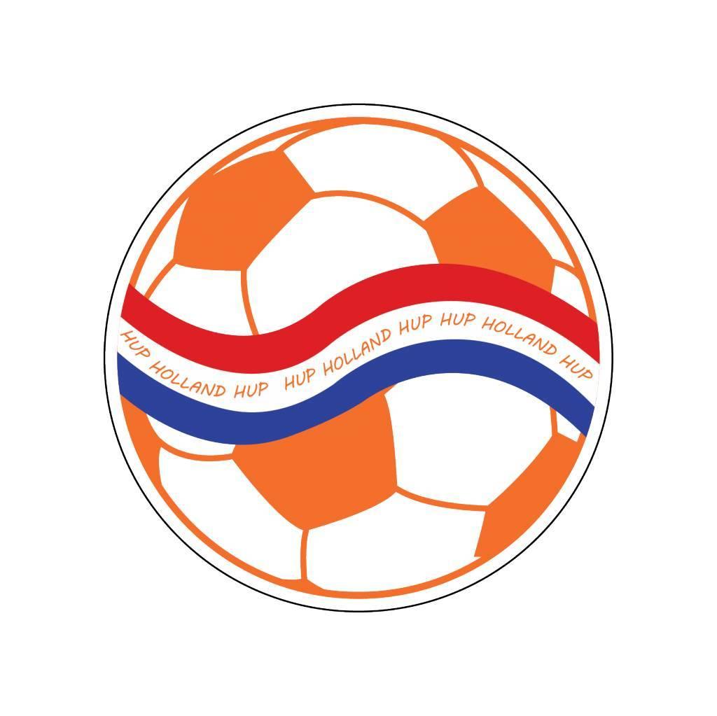 Oranje sticker 7