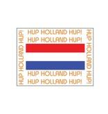 Oranje sticker 6