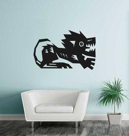 Löwe Sternzeichen Sticker