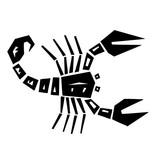 Schorpioen sterrenbeeld sticker