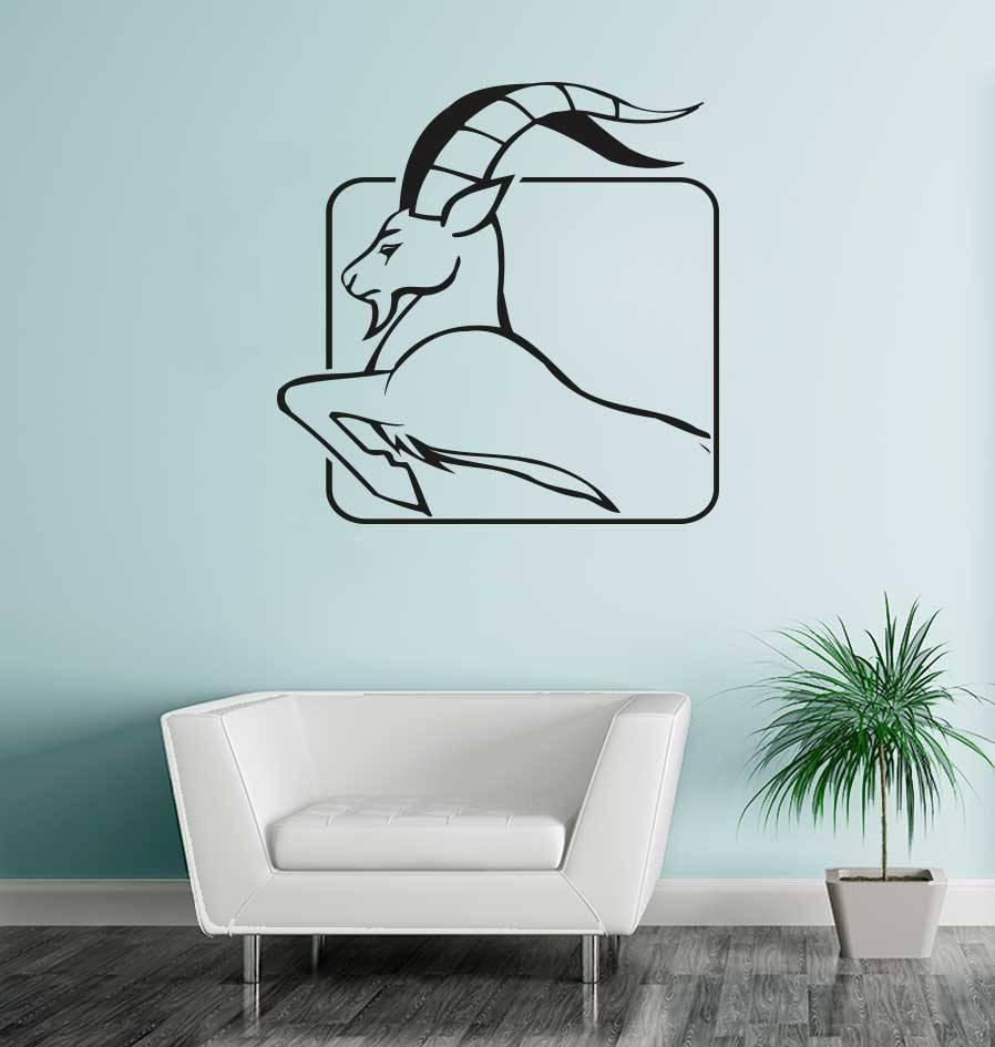 Steenbok sterrenbeeld sticker 1