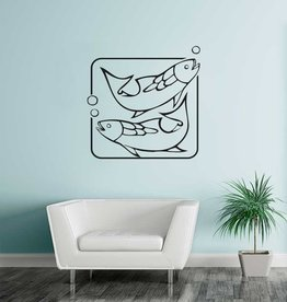 Fisch Sternzeichen Sticker 1