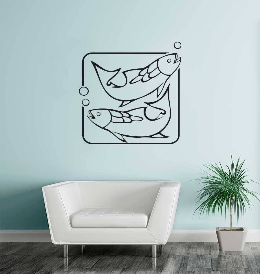 Fisch Sternzeichen Sticker 2