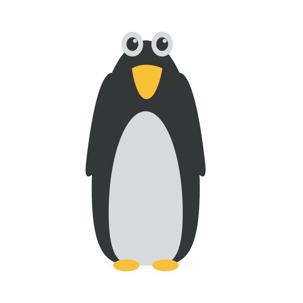 Pinguin2 Sticker