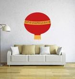 Chinese lamp Sticker