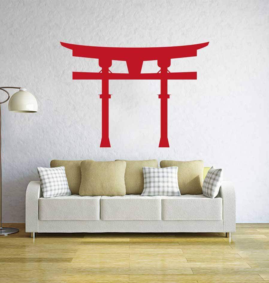 Chinese poort Sticker