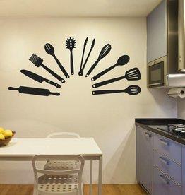 Wall Sticker kitchen tools