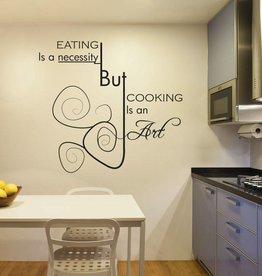 Wall Sticker kitchen text 4