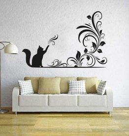 Wall Sticker Magic Cat