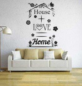 Wall Sticker Living text 2