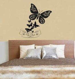Wandaufkleber Schmetterlinge