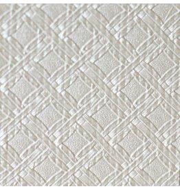 Interieurfolie White Weave Squares