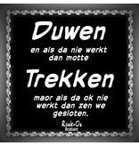 Roek-Oe Brabant stickerset van 10 stickers
