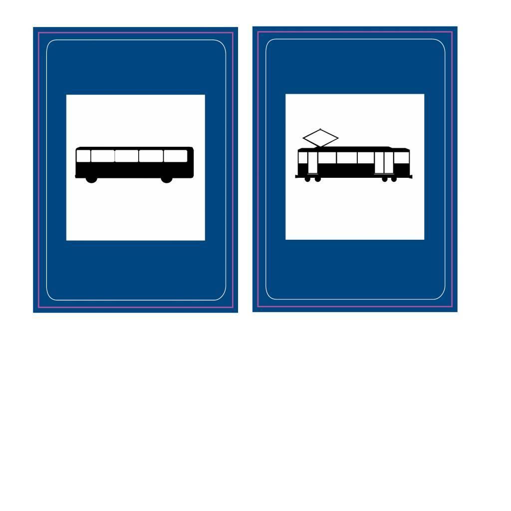 Bushalte/tramhalte