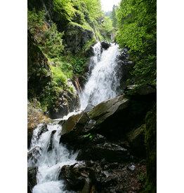 Wasserfall Tür Aufkleber