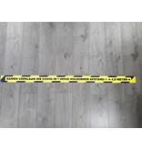 Autocollant de ligne de plancher garder une distance de 1,5 mètre