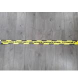 Vloerlijn sticker afstand bewaren 1,5 Meter