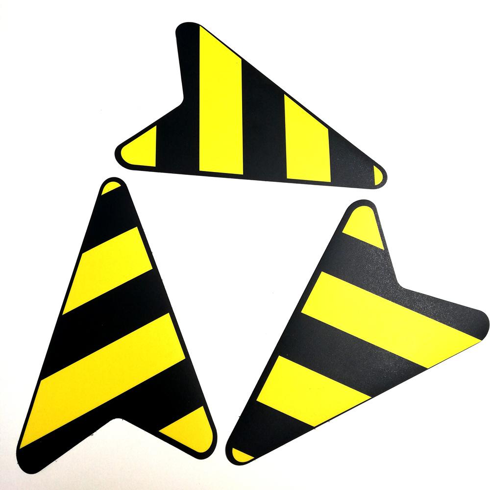 Floor sticker arrow route corona