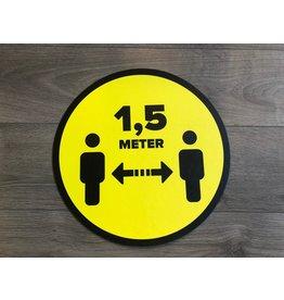 Mantenga la distancia de la lona 1.5 metros