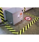 Bodenlinien Gefahr 5 cm x 30 mtr